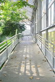 Metal walk way Royalty Free Stock Photography