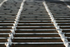 Metal walkway Stock Photography