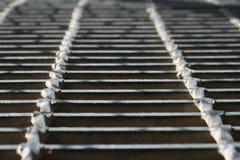 Metal walkway Stock Photography