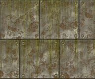Metal wall Royalty Free Stock Photography