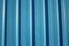 Metal wall of building Royalty Free Stock Images