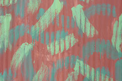 Metal wall in camouflage colors. In sunny day royalty free stock photos
