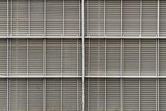Metal Wall Line Pattern Stock Image