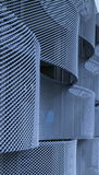 Metal wall pattern Stock Image