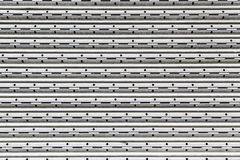 Metal wall protection Royalty Free Stock Image
