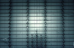 Metal wall protection Royalty Free Stock Photo
