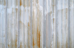 Metal wall rust texture background industrial pattern. Metal background vertical lines rust texture metallic surface Royalty Free Stock Photos