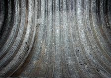 Metal wall texture, empty interior Stock Photography