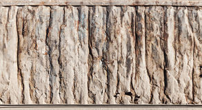 Metal wall texture, industrial cargo container side Stock Photo