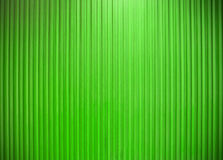 Metal wall vertical line texture Green color Stock Photo