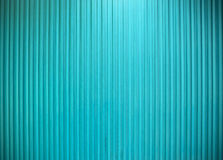 Metal wall vertical line texture ligth blue color. Stock Photography