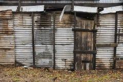 Metal Wand Lizenzfreie Stockfotografie