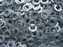 Metal Washers Stock Image