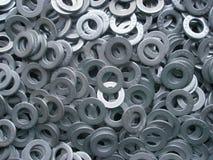 Metal Washers Stock Image