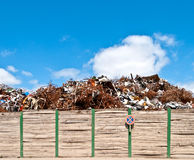 Metal waste Royalty Free Stock Photography