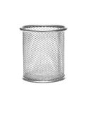 Metal wastebasket Royalty Free Stock Photos
