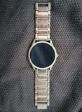 Metal Watch on textured background royalty free stock images