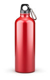 Metal water bottle Stock Images