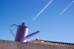 Metal Watering can Stock Photos