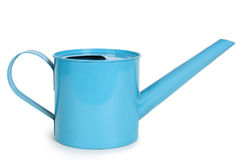 Metal watering can isolated Stock Photo