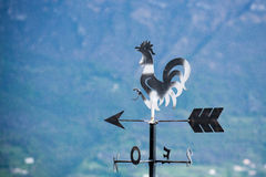 Metal weathervane detail Royalty Free Stock Image