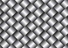 Metal weave surface texture background Stock Images