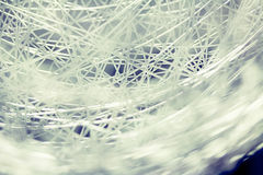 Metal web sphere background Royalty Free Stock Image