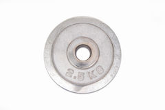 Metal weight Royalty Free Stock Images