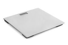 Metal weight scale Stock Photo