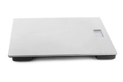 Metal weight scale Stock Image