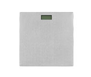 Metal weight scale Stock Photos