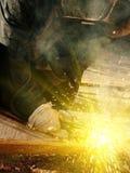Metal welding Royalty Free Stock Photos