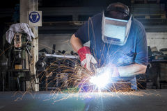 Metal Welding Stock Image