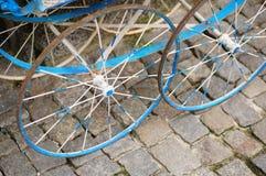 Metal wheels Stock Photos