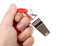 Metal Whistle Stock Photos
