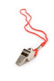 Metal Whistle royalty free stock images