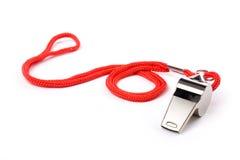 Metal Whistle royalty free stock photos