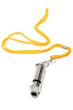 Metal whistle Stock Images