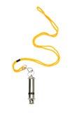 Metal Whistle Stock Image