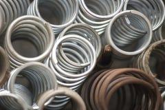Metal wiosny Obrazy Stock