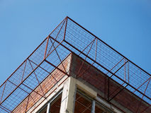 Metal wire cage Stock Photography