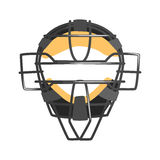 Metal Wire Face Protection Catcher Mask, Part Of Baseball Player Ammunition And Equipment Set Isolated Objects Stock Photos
