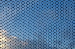 Metal wire mesh Stock Image
