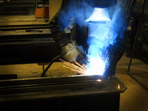 Metal worker Royalty Free Stock Image