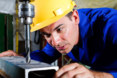 Metal worker Royalty Free Stock Images