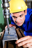 Metal worker Stock Images