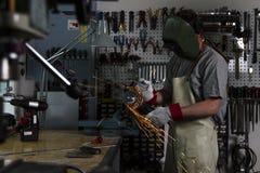 Metal worker Royalty Free Stock Photo