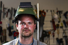 Metal worker Stock Photos