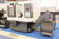 Metal-working machine Royalty Free Stock Image