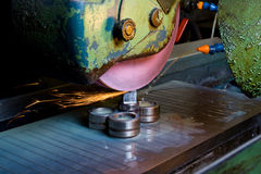 Metal working machinery Royalty Free Stock Photos